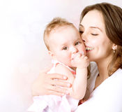 Mother and Baby Royalty Free Stock Photography