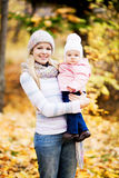 Mother and baby outdoor Stock Photography