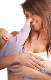 Mother with baby son Stock Photo