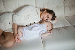 Mother with baby Royalty Free Stock Photos