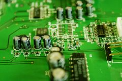 Mother board Royalty Free Stock Image