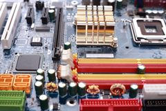 Mother Board Royalty Free Stock Photography