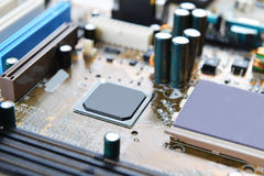 Mother board of computer Stock Images