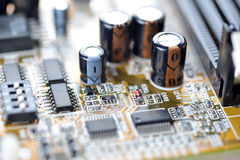 Mother board of computer Royalty Free Stock Photography