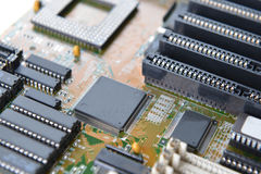 Mother board of computer Stock Image