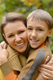 Mother with boy Royalty Free Stock Photos