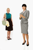 Mother and businesswoman royalty free stock image