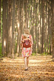 Mother carrying daughter   Royalty Free Stock Images