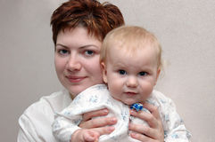 Mother and child-1 Royalty Free Stock Photography