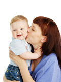 Mother and the child Stock Photography