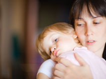 Mother with child Royalty Free Stock Photography