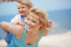 Mother with child Royalty Free Stock Images