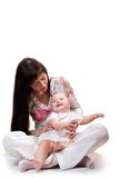 Mother and child Stock Images