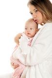 Mother with child Stock Images