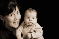 Mother and child. Picture of a smiling Mother and child Royalty Free Stock Image