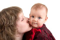 Mother and child royalty free stock photo