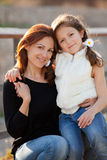 Mother child royalty free stock photography