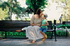 Mother with the child Royalty Free Stock Photos