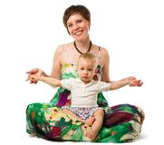 Mother with child Stock Photography