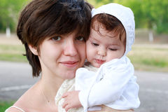 Mother with a child Royalty Free Stock Photos