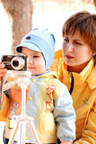 MOTHER AND CHILD. Mother and the child photograph Royalty Free Stock Photos