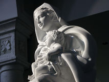 Mother and Child. Mother and Christ Child statue Royalty Free Stock Photos
