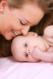 Mother with child Royalty Free Stock Photo