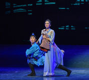 """Mother and child feelings-Dance drama """"The Dream of Maritime Silk Road"""". Dance drama """"The Dream of Maritime Silk Road"""" centers on the plot of two Royalty Free Stock Photography"""