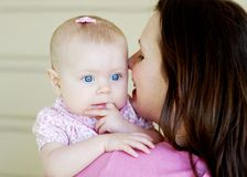 Mother and Child - horizontal stock photo