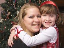 Mother and Child Hug stock image