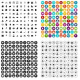 100 mother and child icons set vector variant. 100 mother and child icons set vector in 4 variant for any web design isolated on white Royalty Free Stock Image