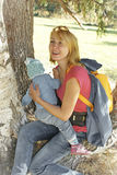 Mother and Child in Nature Stock Photos