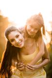 Mother and child portrait Royalty Free Stock Photos