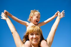 Mother & child(son) Royalty Free Stock Image