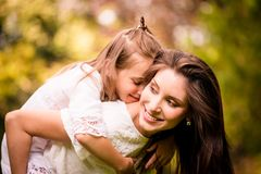 Mother and child together Royalty Free Stock Images