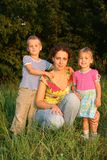 Mother and the children Royalty Free Stock Photography