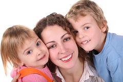 Mother and children royalty free stock image