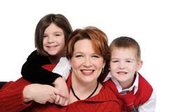 Mother and children Stock Photography