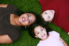 Mother with Children Stock Photos