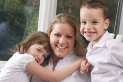 Mother and Children Royalty Free Stock Images