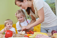 Mother with children Royalty Free Stock Images