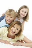 Mother And Children Happy Together Royalty Free Stock Photo