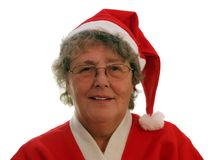 Mother Christmas Stock Image