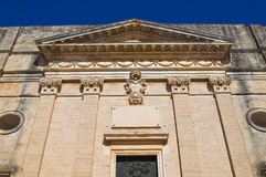 Mother church. Alessano. Puglia. Italy. Stock Image