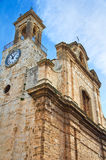 Mother Church of Bitritto. Puglia. Italy. Royalty Free Stock Photo
