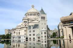The Mother Church. In Boston Massachusetts Royalty Free Stock Photos