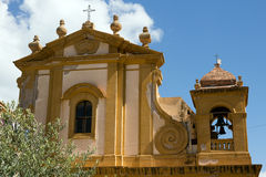 Mother Church of Castellammare del Golfo - Sicily Royalty Free Stock Image