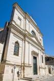 Mother Church of Castrignano de' Greci. Puglia. Royalty Free Stock Images