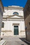 Mother Church of Castrignano de' Greci. Puglia. Stock Photography