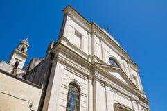 Mother Church of Castrignano de' Greci. Puglia. Stock Images
